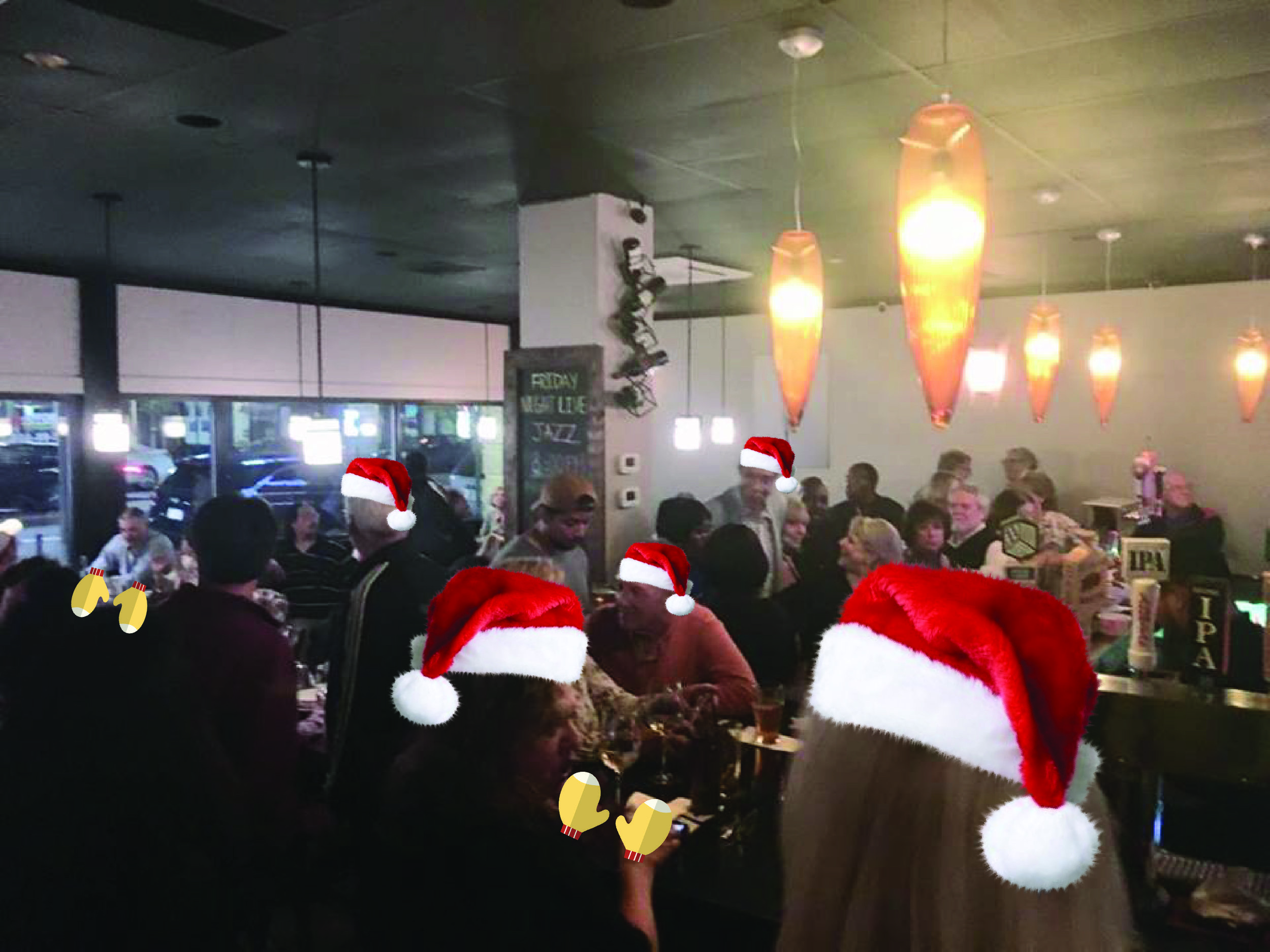 10 pm -  Pho Dakao - 101 Concord Street, Park at Concord/Howard Streets lot- Holiday Gear winner, Zeke Martin band, storefront window voting