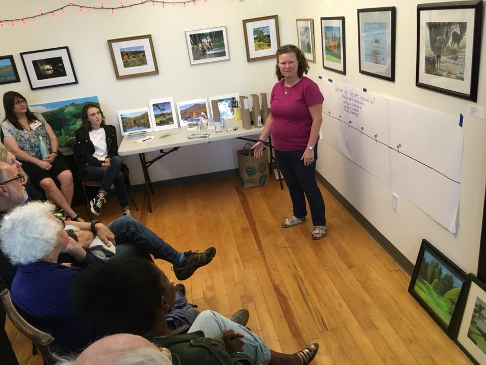 Vanessa Hargrove Pendexter spoke about her photography during DFI's Creative Economy and Cultural Tour.