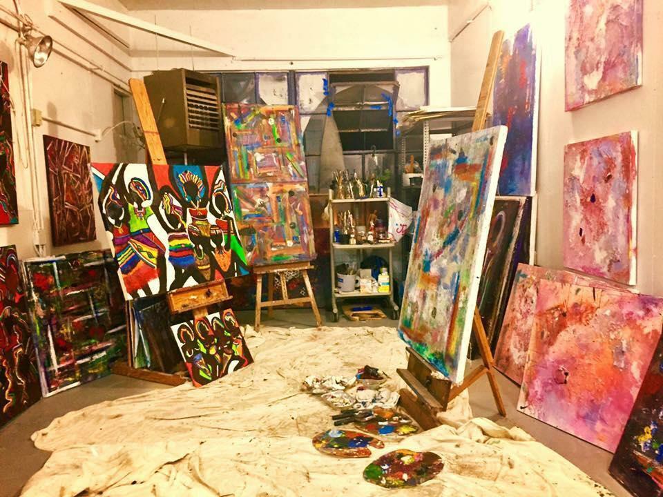 Ellen Spencer's Art Studio   Waverly Place Studios   763 Waverly Street  (on-site parking)