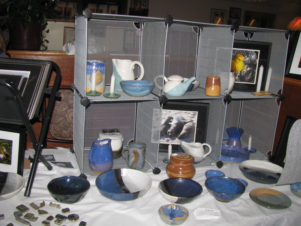 Pottery-A-New Pictures-A-New - Multi-talented Ann Newberry presents functional pottery and nature photography. Her items are decorative and useful, making them go-to gifts or everyday necessities.Pairs well with: Supporter Scarf