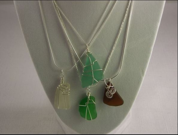 Two Orange Cats Jewelry - These handcrafted jewels and ornaments inspired by the Sea and the Shore. Surf tumbled sea glass, sea pottery, beach stones, semi precious stones and sterling silver are used to create unique one of a kind pieces of jewelry. The ornaments are made with genuine beach sand, shells, sea glass and more.Pairs well with: But I Digress