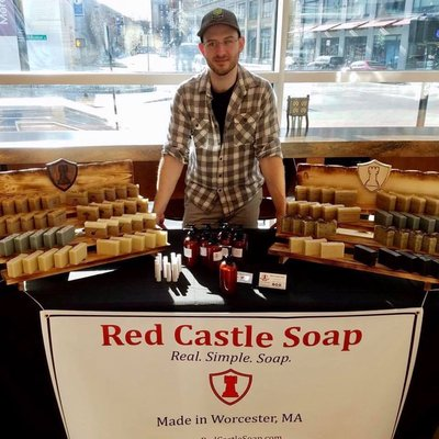 Red Castle Soap - Red Castle Soap, led by owner/operator Josh Aldenberg, has been providing beer soap for over 4 years now to breweries al over New England. Josh continuously refines his skills, using a myriad of different methods, beers, oils, fragrances, and colors.Pairs well with: Fruits 'n' Shoots