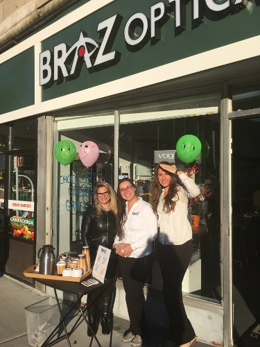 Braz Optical - The Downtown Celebration will offer a complimentary eye exam from the team at Braz Optical.