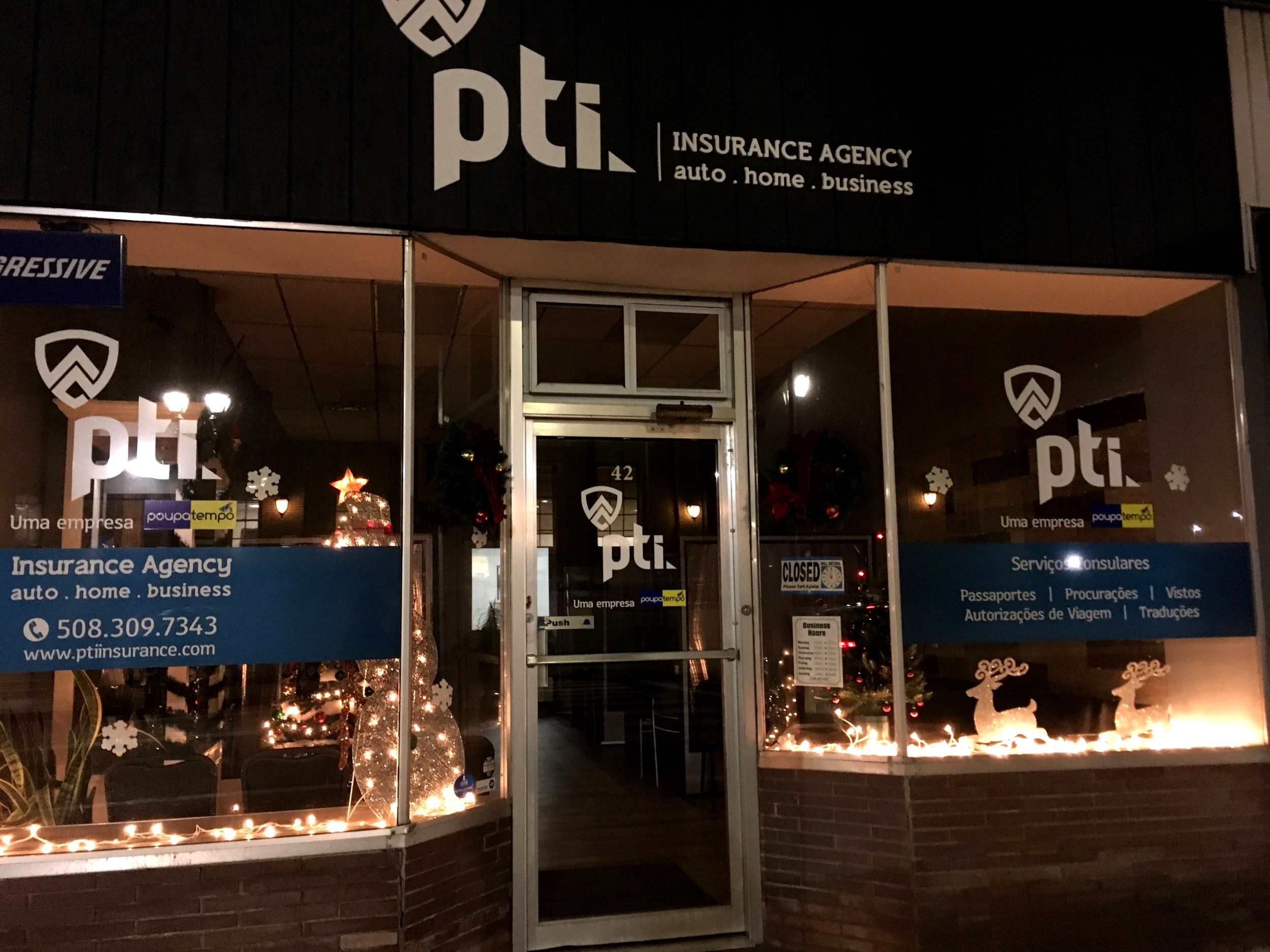 PTI Insurance   42 Union Avenue