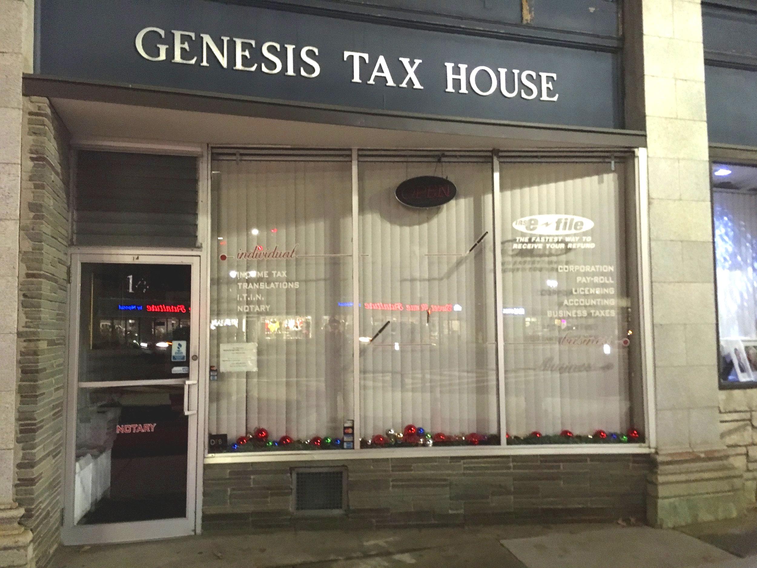 Genesis Tax House   14 Union Avenue