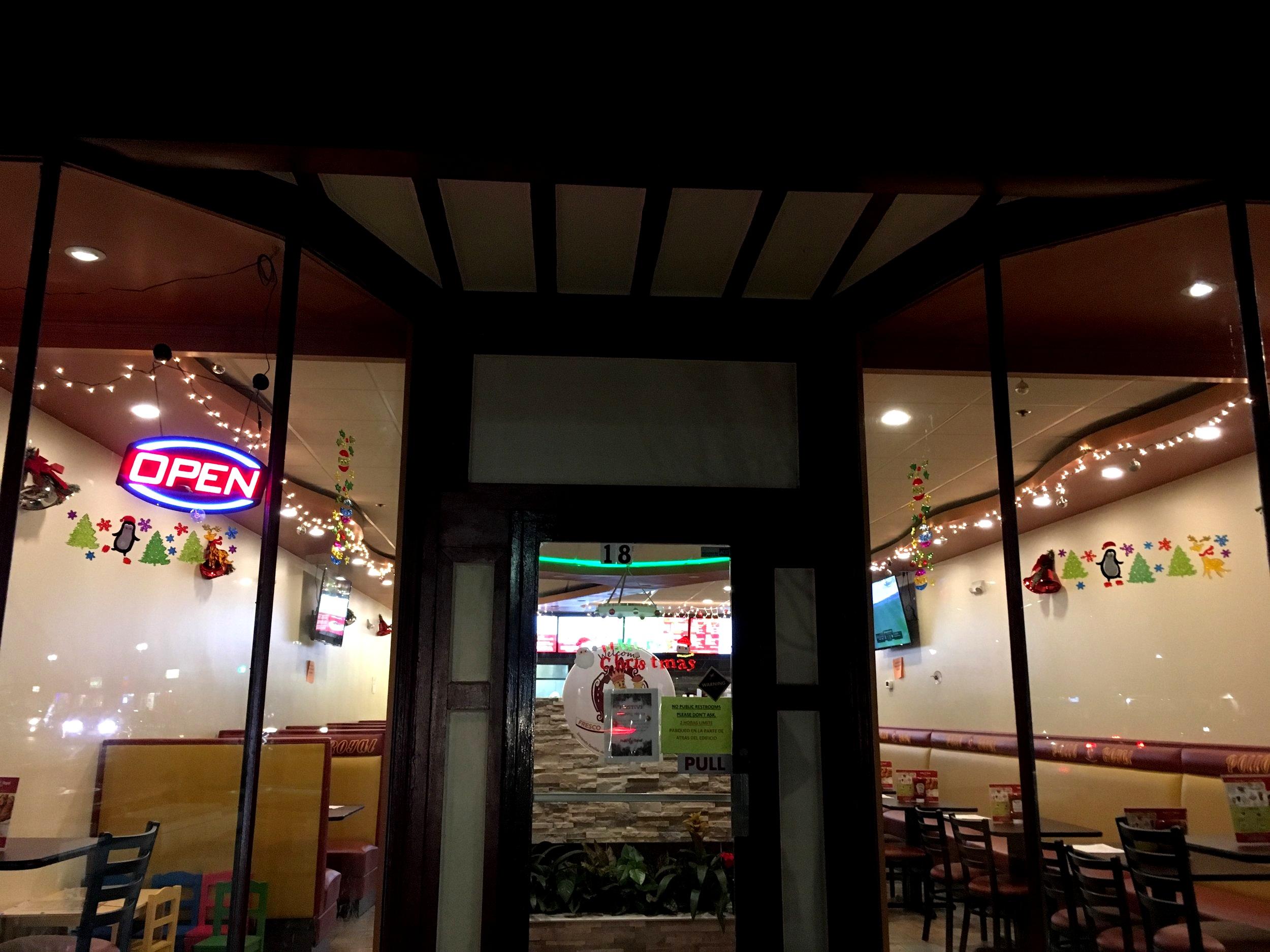 Pollo Royal Restaurant   18 Irving Street