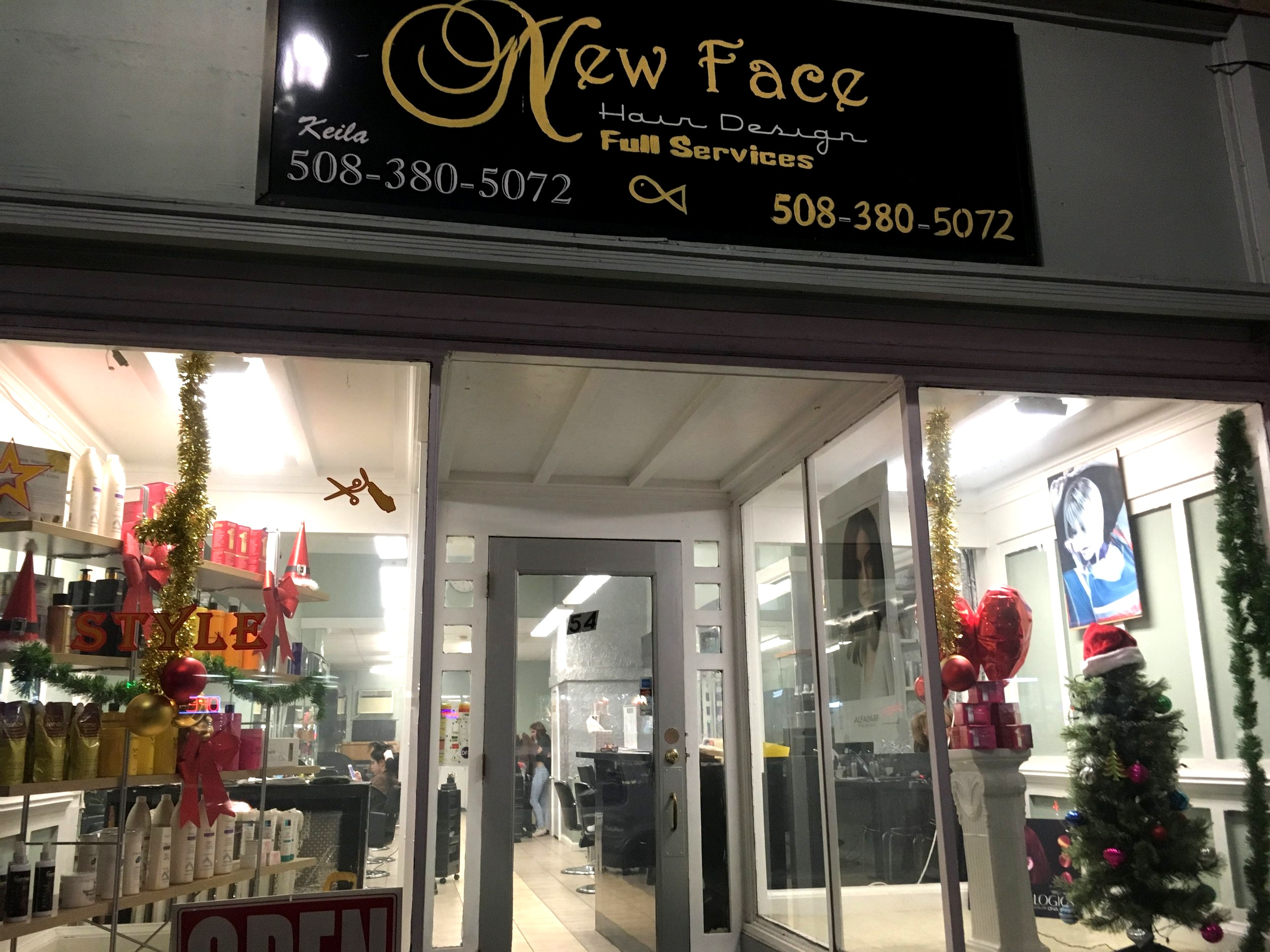 New Face Hair Design   54 Hollis Street