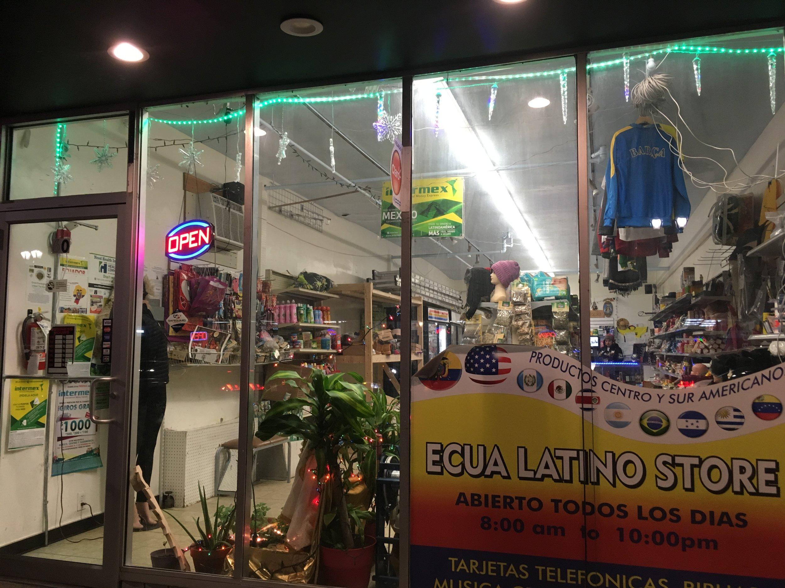 Ecua Latino Store   60 Hollis Street