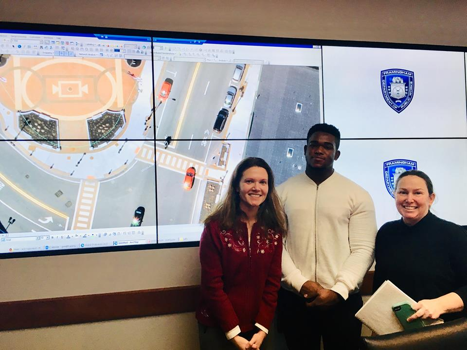 DFI partnered with MassBay Community College to obtain a CAD assistant to support review of downtown sidewalk features for potential displays and cafe seating.