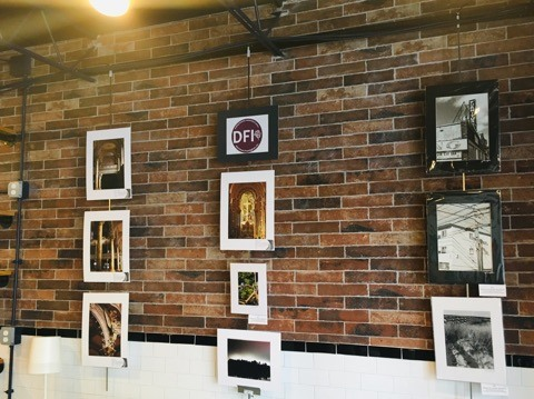 The new DFI art gallery features works by local artists.    Sofa Cafe  :  181 Concord  Street (parking in rear)