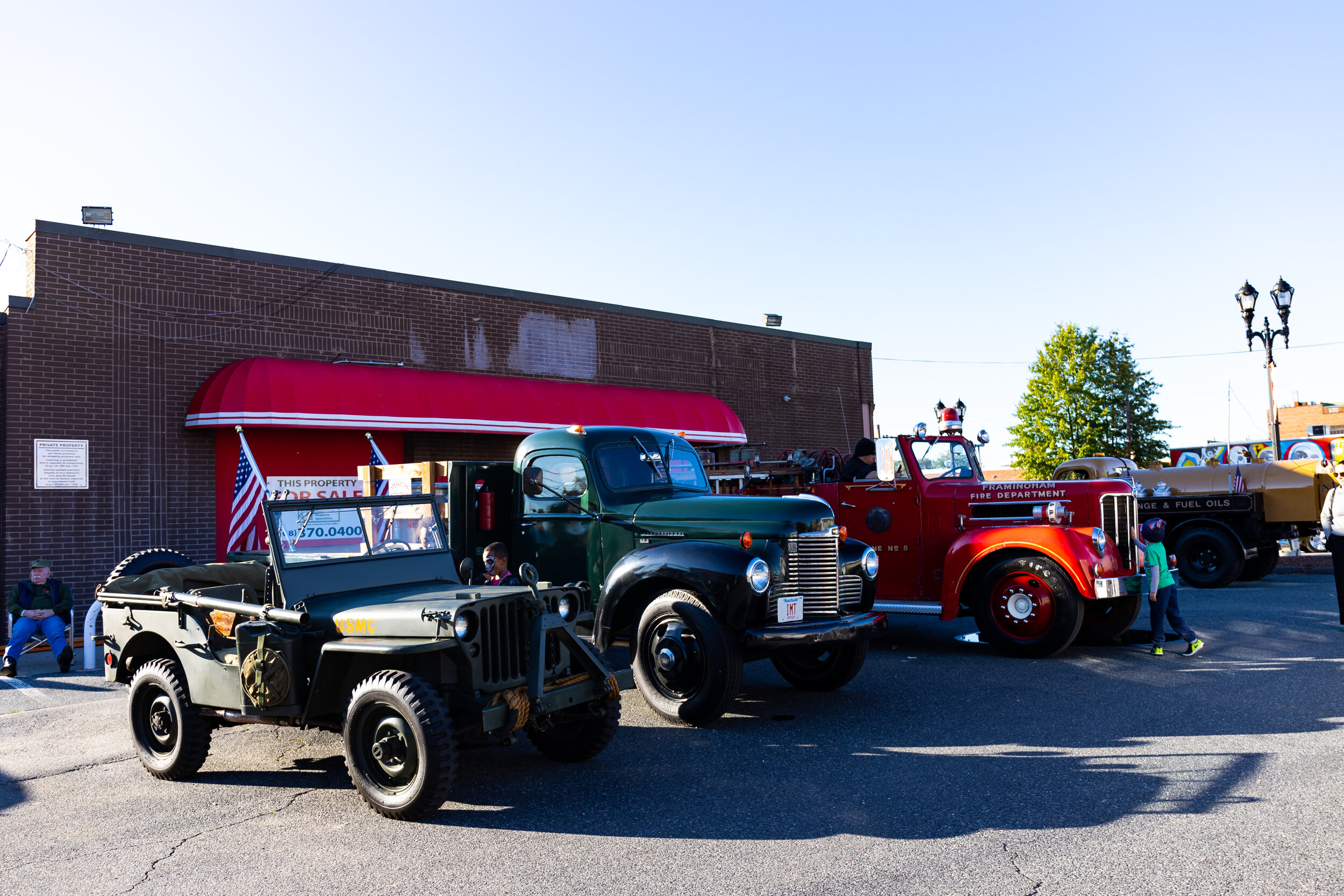 Charlie Rousseau's Antique Cars Show at 430 Waverly Street in Burkis Square. Photo credit Itala Keller.