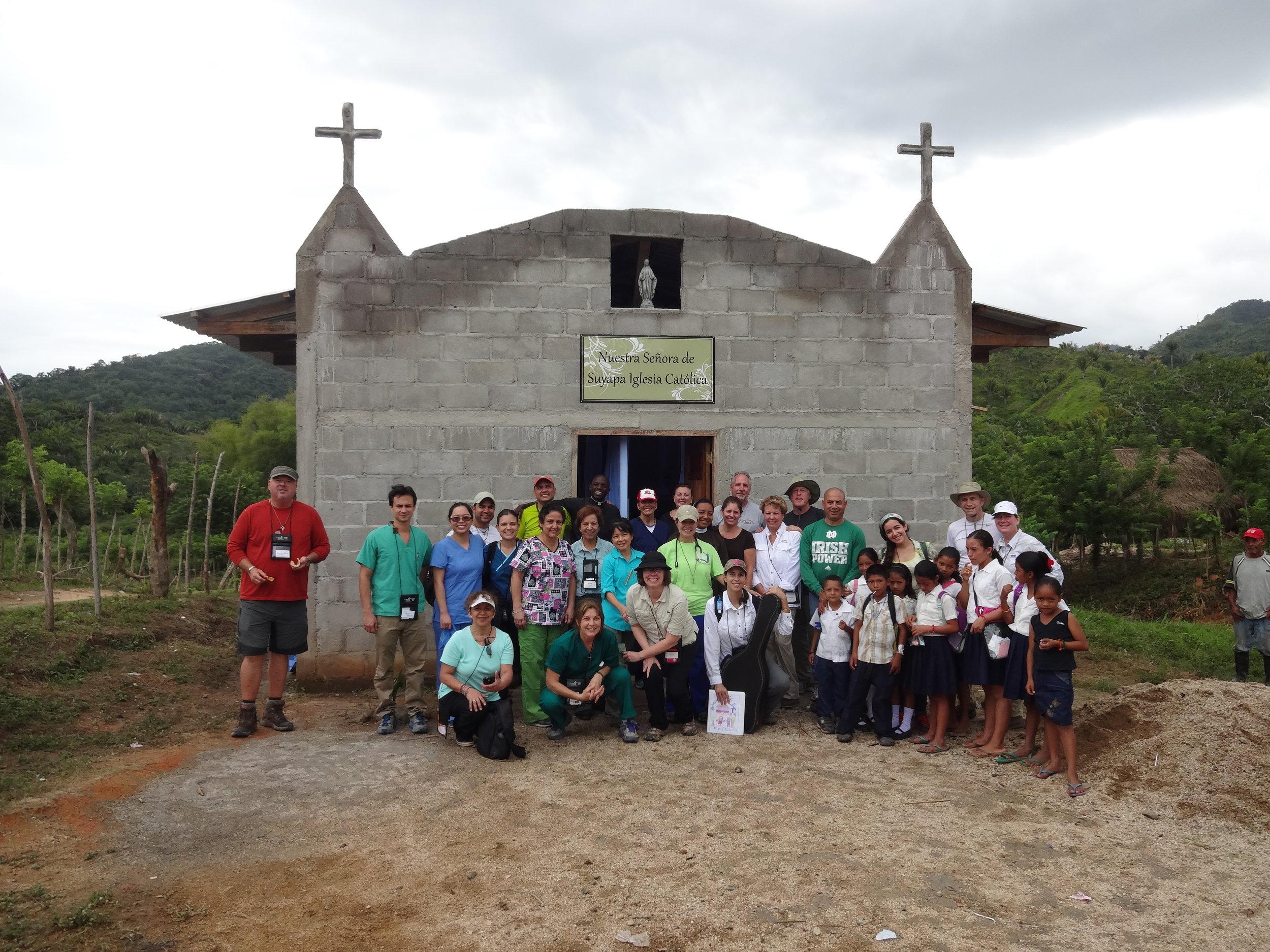 La Colonia chapel 2014