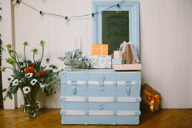 """A hand painted """"hope chest"""""""