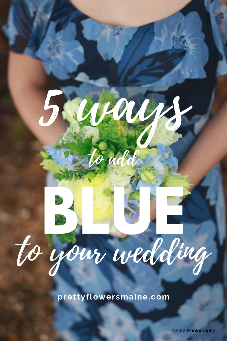 5 Ways To Add Blue To Your Wedding