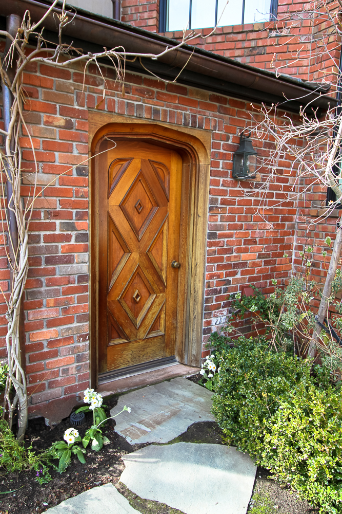 An Inviting Cottage Door