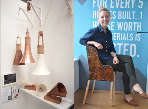 Graduate wins award at New Designers 2014