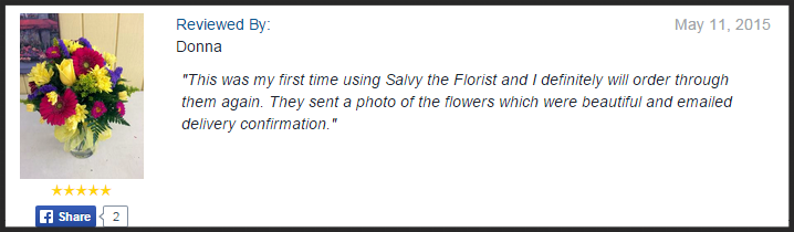Salvy the Florist, Lynn