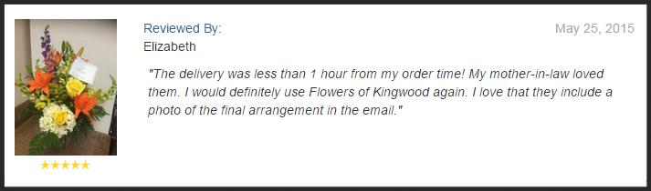 Flowers of Kingwood, Kingwood