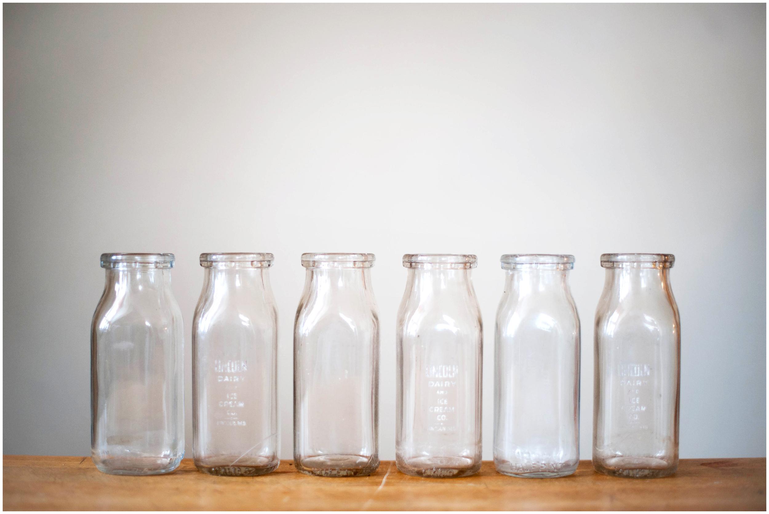 Vintage Milk Bottle