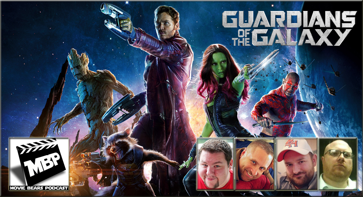 MBP e89 - 'Guardians of the Galaxy' (8/7/14)   This week the bears are 'hooked on a feeling' as they review the newest offering from Marvel, 'Guardians of the Galaxy.' Click through to view!