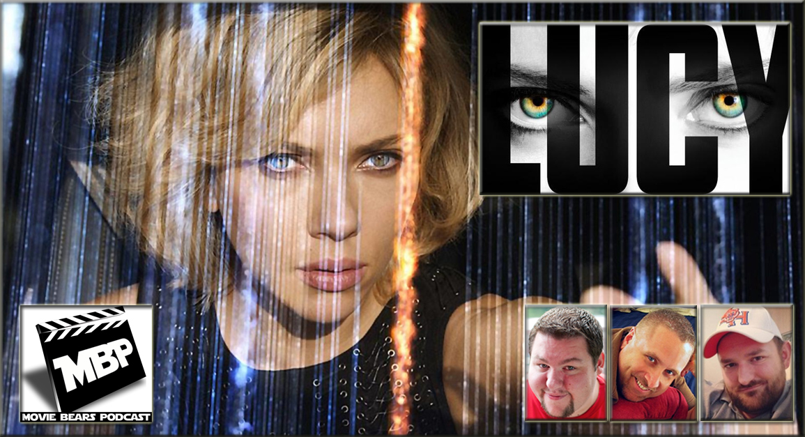 MBP e88 - 'Lucy' (7/31/14)   This week the guys review 'Lucy,' the new 100% brain power flick starring the phenomenal Scar-Jo! Click through to view!