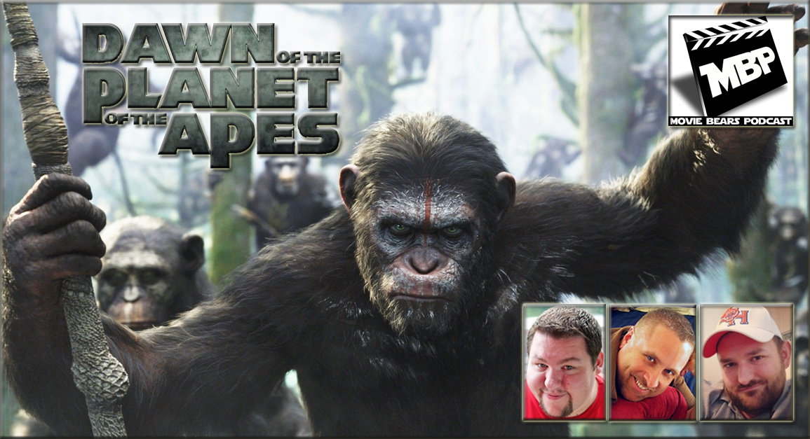 MBP e86 - 'Dawn of the Planet of the Apes' (7/17/14)   Damn dirty apes!! This week's show tackles 'Dawn of the Planet of the Apes.' Click through to view!