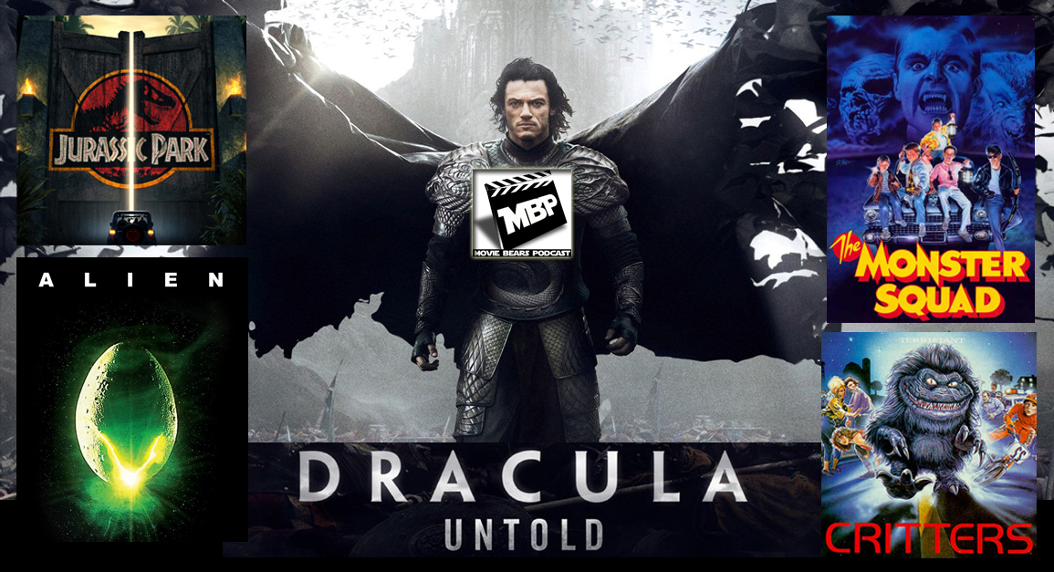 MBP e99 - Favorite Monster Movies and 'Dracula Untold' (10/16/14)    This week the bears share their favorite monster flicks before reviewing 'Dracula Untold.' If you're on the fence about this one, the guys give some non-spoilery advice before diving into their spoilery review. Click through to view!