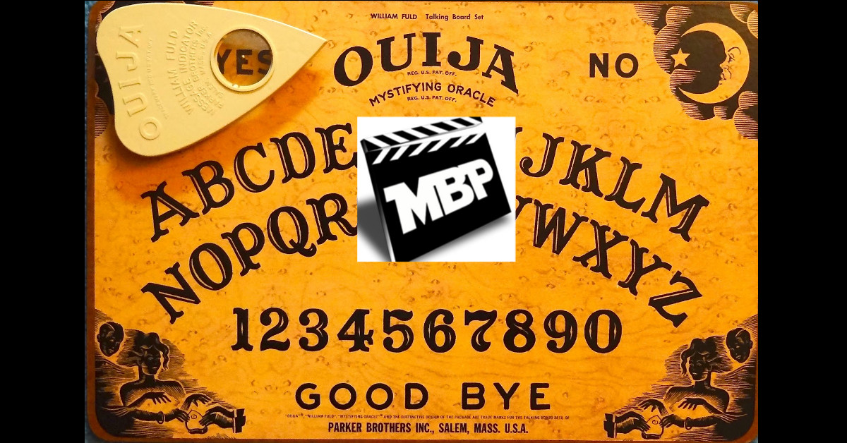 MBP e101 - Favorite Ghost Flicks and 'Ouija' Review (10/31/14)    This week the bears celebrate Halloween by discussing their favorite ghost movies! They also review 'Ouija,' the new spirit-board-centric horror flick out now. If you're on the fence about this one, the guys give some non-spoilery advice before diving into their spoilery review. Click through to view!
