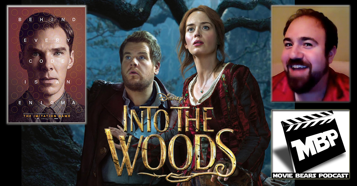 """MBP e110 - Into the Imitation Game (01/01/15)    This week the bears are joined by ursine actor Adam B. Shapiro (""""Bella,"""" HBO's 'The Normal Heart') to review Disney's 'Into the Woods.' The guys also discuss 'The Imitation Game' starring Benedict Cumberbatch and briefly revisit 'The Interview.' Click through to view!"""