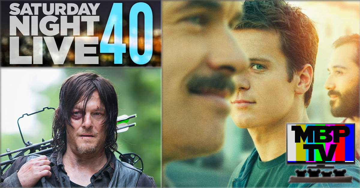 MBP TV e33 - SNL40, Walking Dead, and Looking (02/20/15)    This week MBP TV discusses SNL's 40th anniversary as well as episodes of 'The Walking Dead' and 'Looking.' The bears also share their weekly plugs. Click through to view!