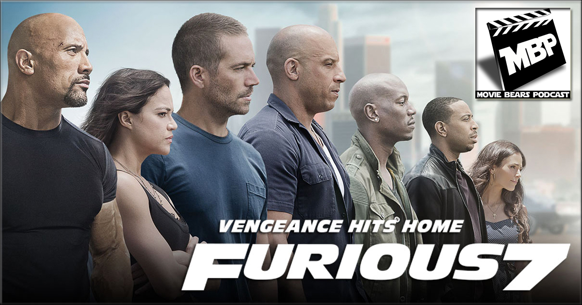 MBP e124 - 'Furious 7'     (4/09/15)    This week the bears review 'Furious 7,' the newest installment of the Fast and the Furious franchise. The guys discuss the impact of Paul Walker's death on the film as well as their thoughts on whether it's actually worth checking it out. Click through to view!