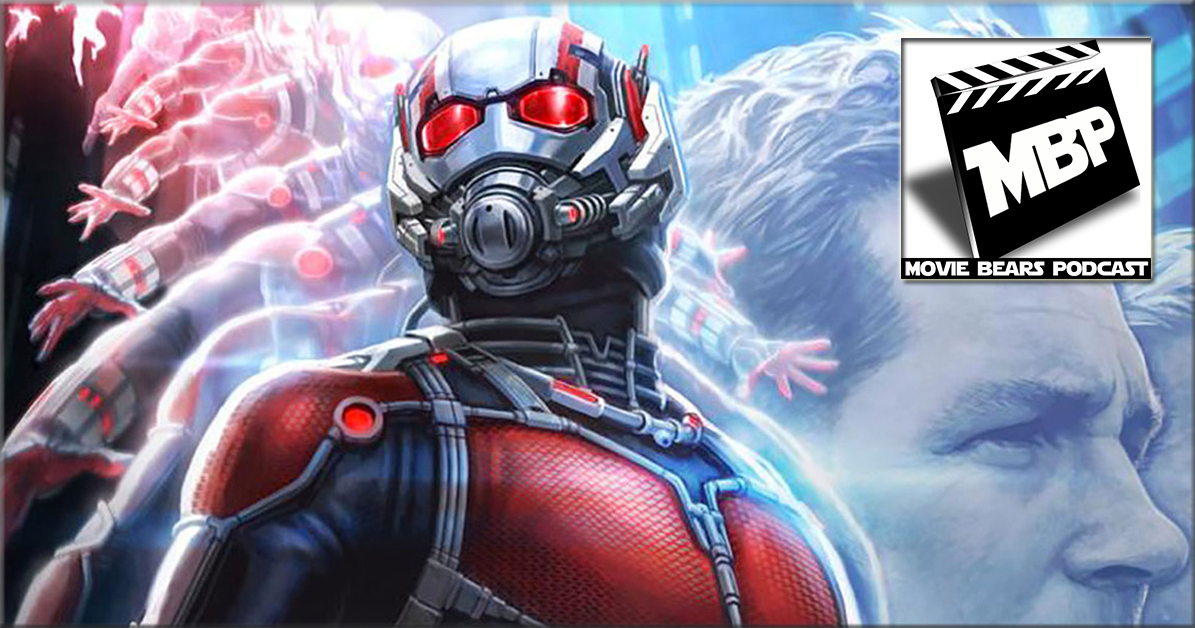 MBP e139 - 'Ant-Man' (7/28/15)    While Marvel may be looking to downsize it's super heroes, the Movie Bears Podcast is super-sizing its lineup for this episode. This week, Brad, Will and Jim are joined by our fun, fuzzy friends Bill Zanowitz and Steven Mowry from the Comic Book Bears Podcast for a lively 5-way review and discussion about Disney/Marvel's latest offering, ANT-MAN. Click through to view!