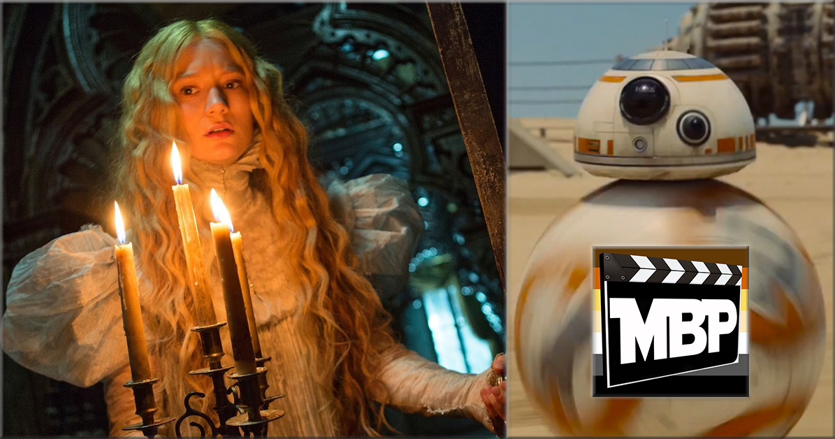 MBP e152 - 'Crimson Peak' and Star Wars News (10/21/15)    On this week's episode, we discuss 'Black Mass,' the new bio-pic on infamous Boston gangster Whitey Bulger. Is this one a potential Oscar contender? Click through to find out our thoughts!