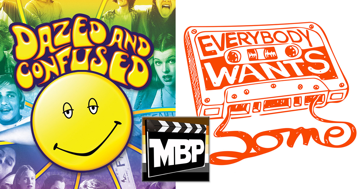 """MBP e177 - 'Dazed and Confused' and 'Everybody Wants Some' (4/7/16)    It's a Richard Linklater DOUBLE FEATURE this week as we review both 'Dazed and Confused' AND 'Everybody Wants Some!' Called """"spiritual sister"""" films, these movies explore the 70's and 80's from the legendary Linklater perspective. Click through to listen!"""
