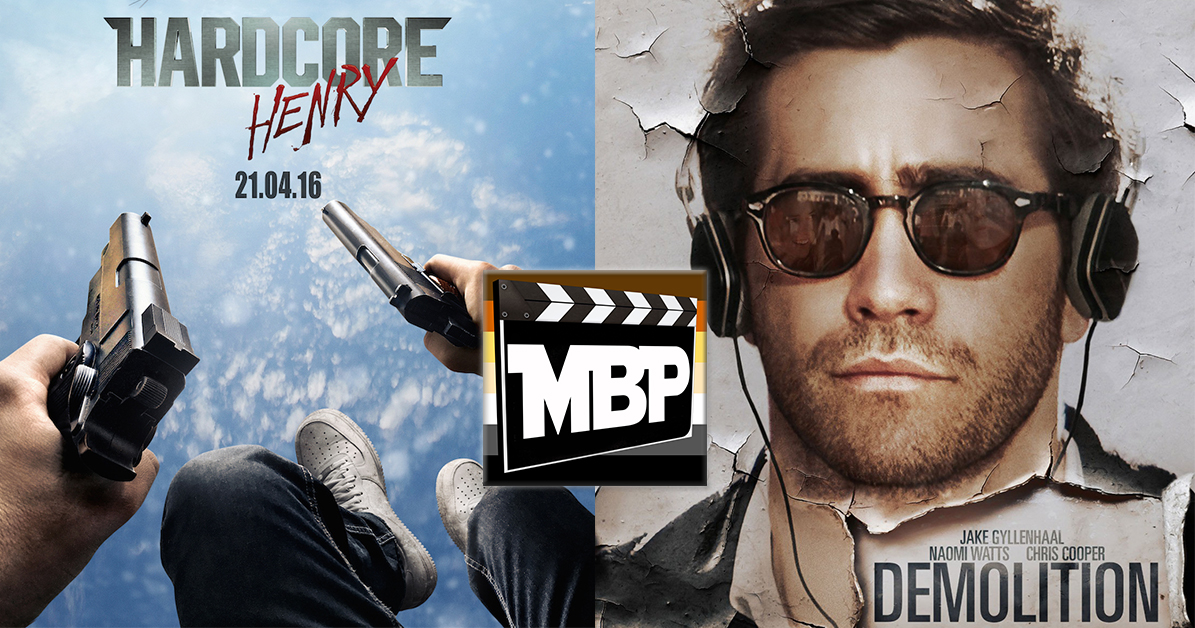 MBP e178 - 'Hardcore Henry' and 'Demolition' (4/14/16)    It's another DOUBLE FEATURE week as the Movie Bears Podcast tackles both 'Hardcore Henry' and 'Demolition' this go round. On the fence about either of these films? Tune in to find out our thoughts! Click through to listen.