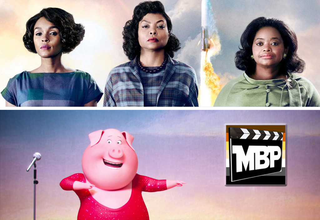 MBP e215 - 'Sing' and 'Hidden Figures' (1/13/17)    One is an animated movie about singing animals, and the other is the inspiring story of three African-American women who were pioneers in the space program. These films don't have much in common, but we're reviewing 'em anyways! Should you see them? Click through to listen!