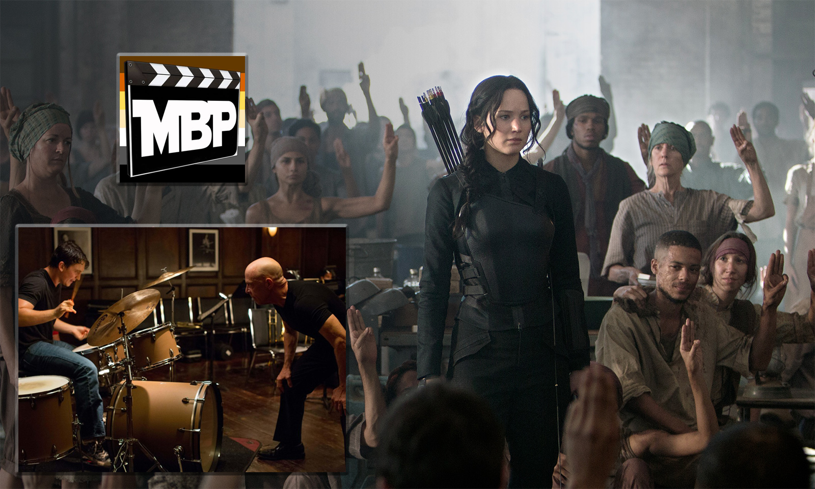 MBP e105 - 'The Hunger Games - Mockingjay Part 1' and 'Whiplash' (11/27/14)    It's time for another Movie Bears Podcast double-feature! This week, we're talking about 'The Hunger Games - Mockingjay Part 1' and 'Whiplash.' Click through to view!