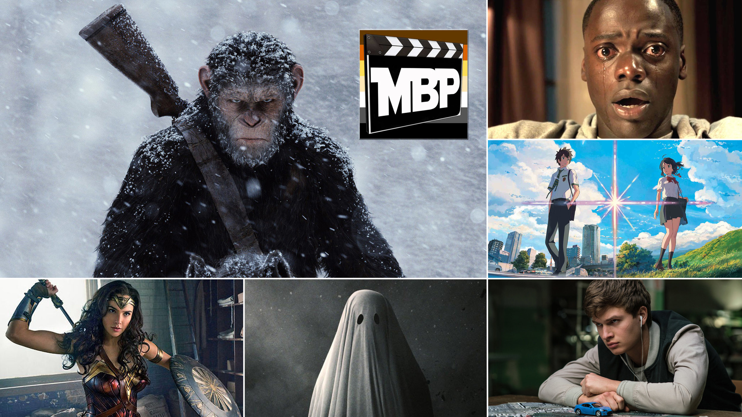 MBP e242 - Top 3 Films of 2017 (So Far) and 'War for the Planet of the Apes' (7/21/17)    Can you believe we're already halfway through 2017? We can't either. But hey, since we're here, let's talk about our favorite films of the year so far. Plus, in this episode we review 'War for the Planet of the Apes,' the third installment of the prequel series. Click the link to listen!