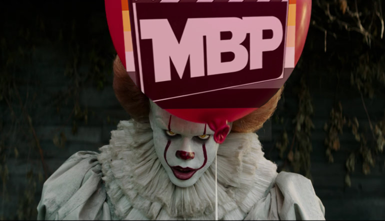 MBP e251 - 'It' (9/15/17)    They all float down here. And when you listen to this week's episode, where we review the latest adaptation of 'It' and compare it to both the book and the miniseries... you'll float too!