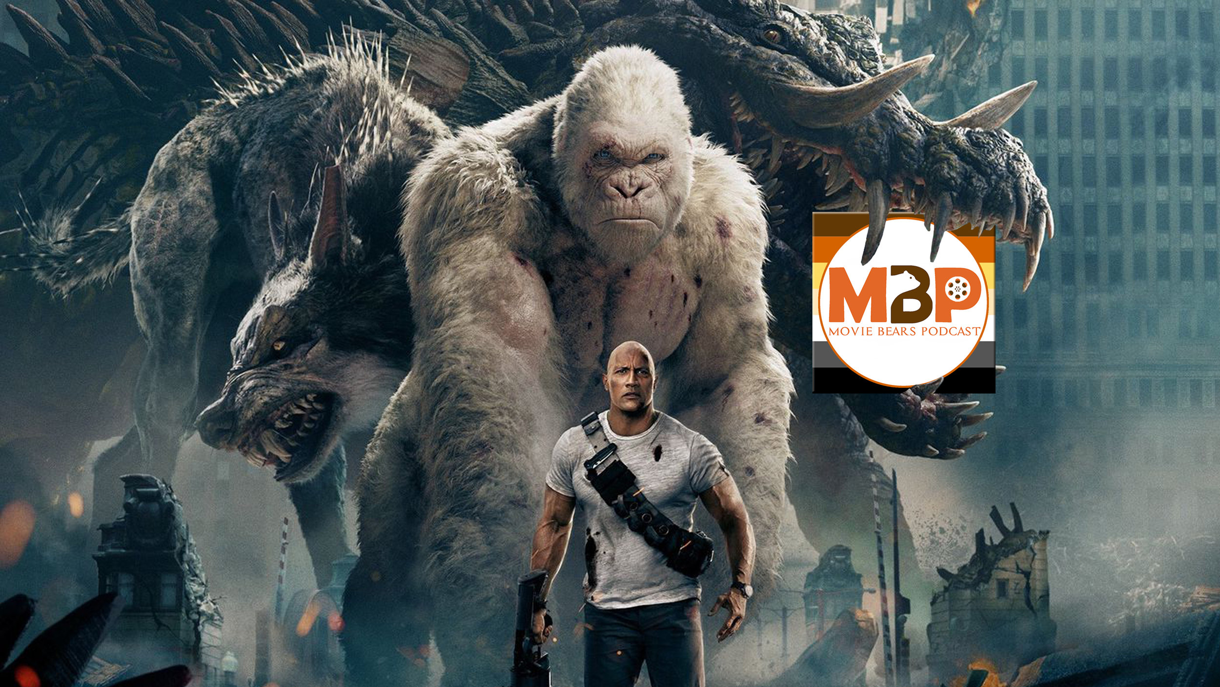 MBP e279 - 'Rampage' (4/20/18)    George and Lizzie and Ralph from the classic arcade game make their film debut in 'Rampage,' the building-crushing and mayhem heavy action flick starring Dwayne Johnson. Did this one crush it? Or did it leave us feeling crushed? Listen to this week's review to find out!