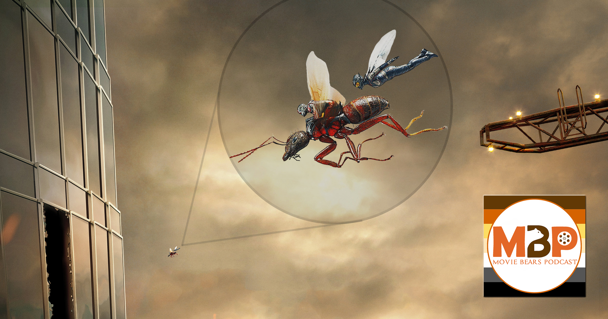 MBP e288 - 'Ant-Man and The Wasp' and 'Skyscraper' (7/17/18)     We're really playing with scale on this episode of the Movie Bears Podcast! First, we get itsy-bitsy with 'Ant-Man and The Wasp,' the latest Marvel Cinematic Universe superhero offering. Then, we help Dwayne Johnson scale to the top of a massive building in the action-packed 'Skyscraper.' Click through to give it a listen!