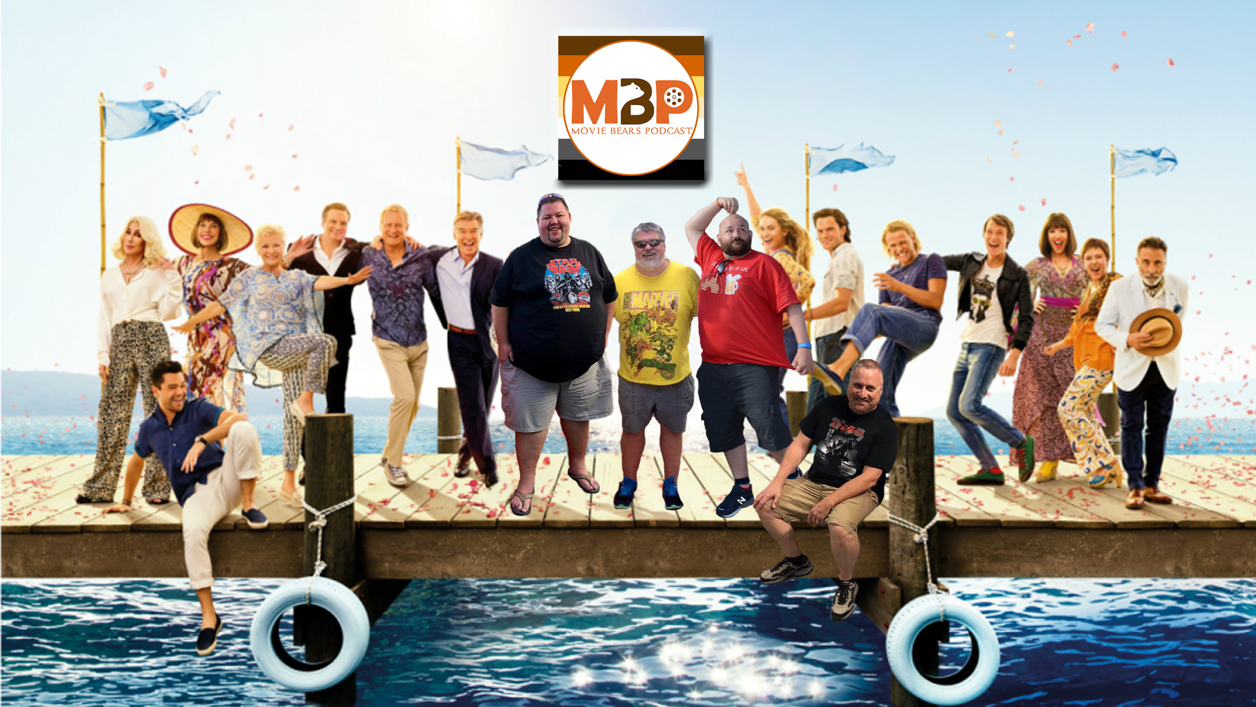 MBP e289 - 'Mamma Mia! Here We Go Again' and San Diego Comic-Con Trailers (7/24/18)    On this episode of the Movie Bears Podcast, we're a bunch of dancing queens, listening to the tunes of ABBA as adapted for 'Mamma Mia! Here We Go Again,' the sequel to the hit jukebox musical. Join us and special guest Bill Zanowitz of the Comic Book Bears Podcast as we review the film, as well as a trio of buzz-worthy trailers from San Diego Comic-Con. Click through to listen!