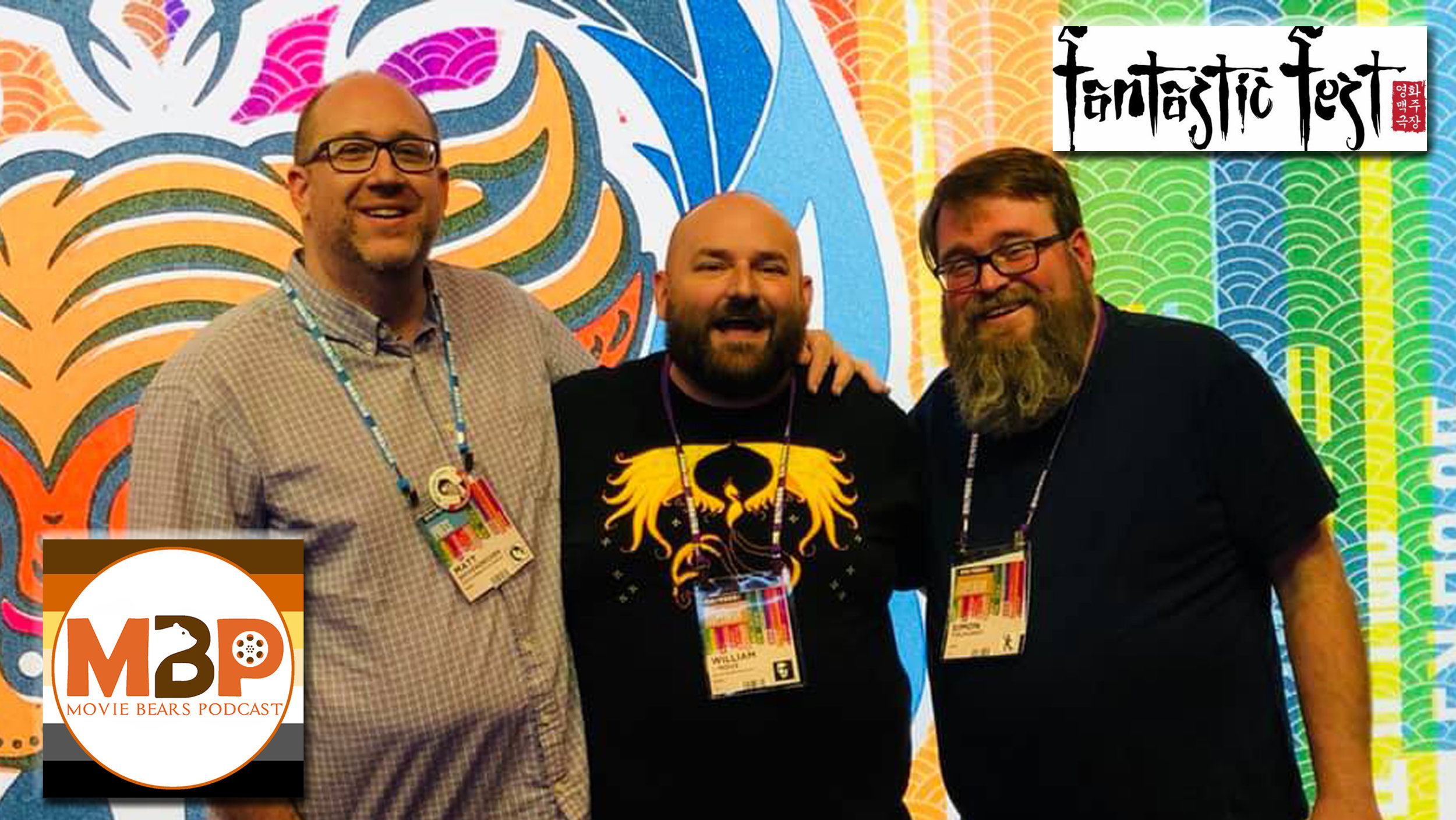 MBP e296 - Fantastic Fest 2018 (9/28/18)    Chaos Reigns at Fantastic Fest, the largest genre film festival in the United States. This year, Movie Bear Will was joined by guest co-hosts Matt Shiverdecker and Simon Tolhurst for an 8 day binge of horror, sci fi, and action film at the Alamo Drafthouse in Austin, Texas. Which films excited us? Click through to find out!