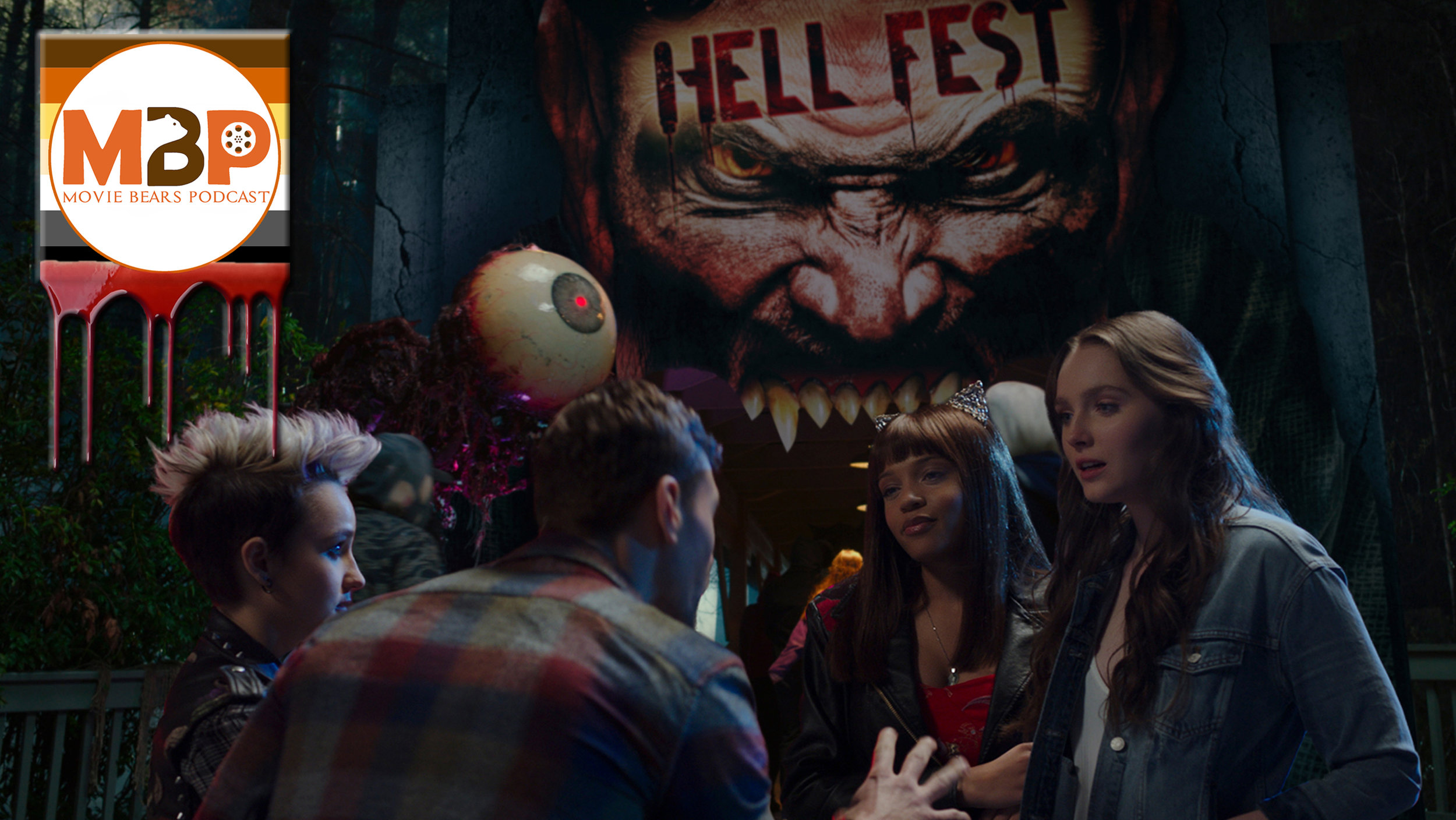 MBP e297 - 'Hell Fest' (10/1/18)    A group of friends finds themselves scared out of their minds as a real slasher stalks them through a horror-themed festival in 'Hell Fest.' Will this new horror flick chill you to the bone? Click through to hear our review!