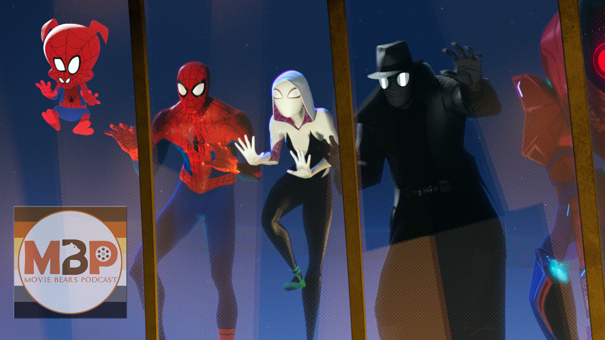M   BP e305 - 'Spider-Man: Into the Spider-verse' (12/18/18)    On this episode, we review & discuss 'Spider-Man: Into The Spider-Verse', the new animated movie in which Miles Morales finds out that he isn't the only person with spider powers. Does this new spidey flick have us flipping and thwipping? Or is this one origin story too many for everyone's favorite wall crawling super hero? Have a listen to our discussion to hear what we think.