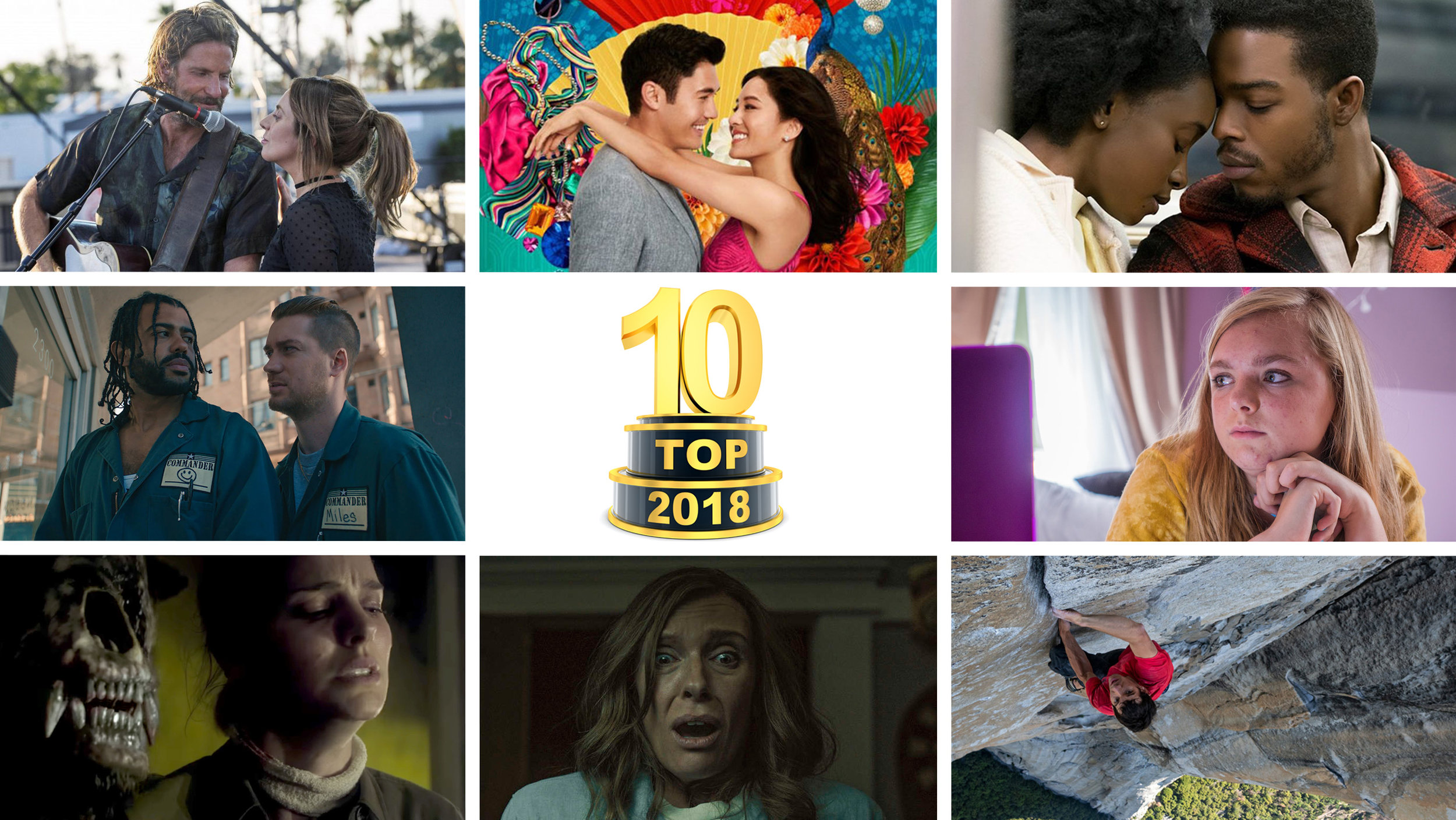 M   BP e307 - Top Ten Films of 2018 (1/9/19)    Here they are! The only movie lists you need this year... Brad, Jim, and Will have each come up with their Top 10 Films of 2018, and we'll be counting them down on this episode.