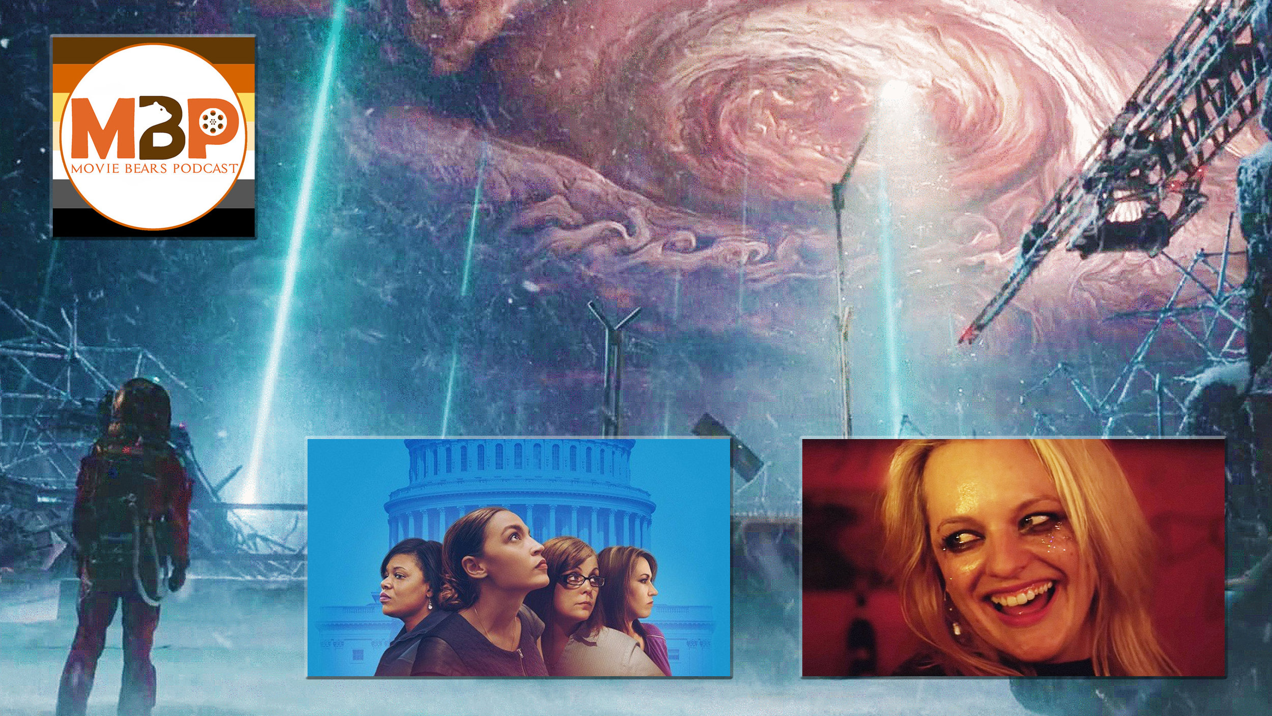 """M   BP e3   22    -    Streaming Round-Up    (5/16/19)    This episode is your chance to """"Netflix and chill"""" with the husky, hairy, huggable homos. It's a Streaming/VOD Round-up as we talk about several recent and interesting movies we've watched and that are available now for streaming or rental. So curl up in your Snuggy, grab your perfectly buttered microwave popcorn, and join us as we talk about some movies you can watch from the comfort of your own home!"""