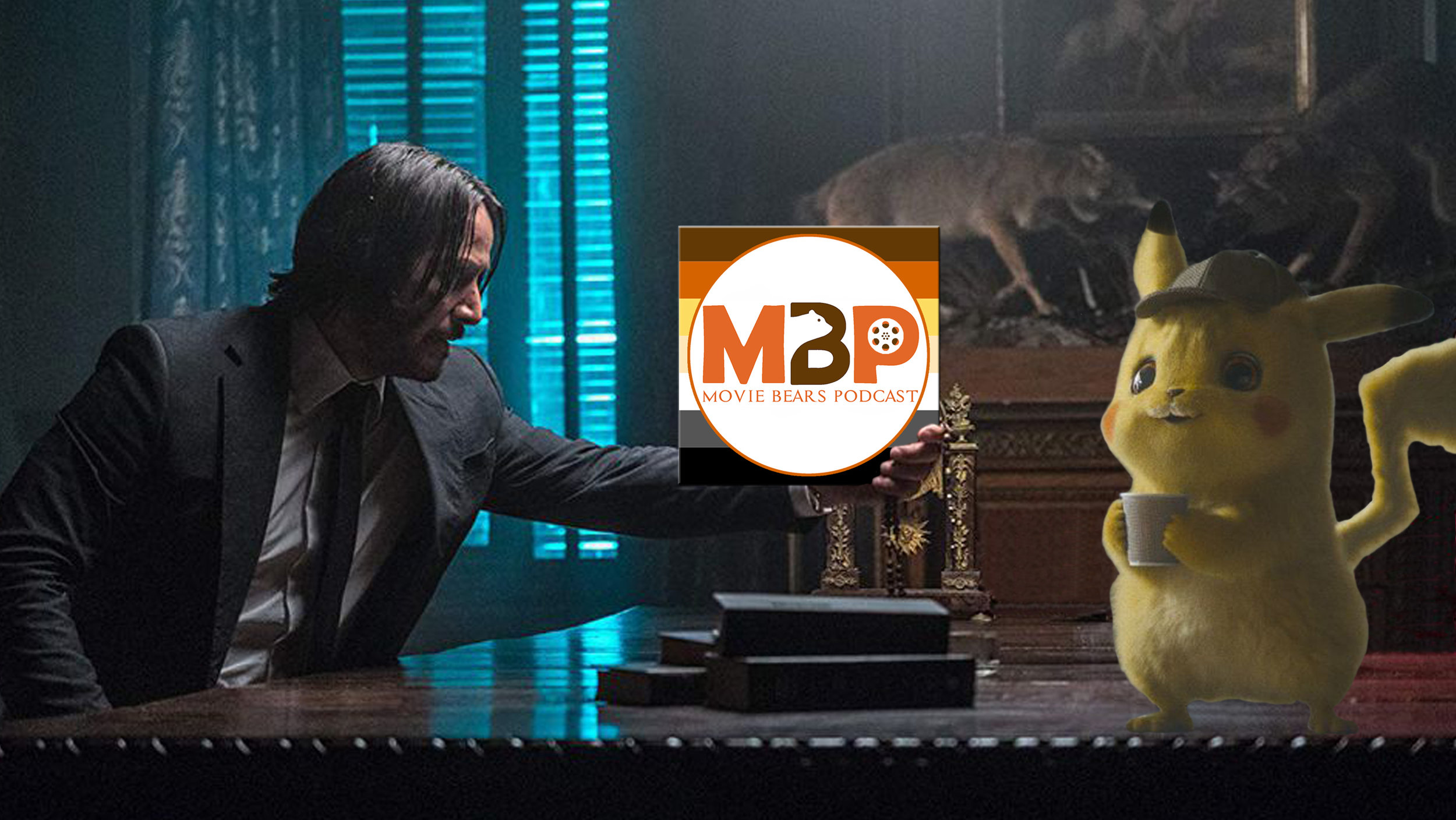 M   BP e3   24    -    'John Wick: Chapter 3 - Parabellum' and 'Pokemon: Detective Pikachu'    (5/21/19)    On this week's episode, we dive into not one but *two* films out right now: 'John Wick Chapter 3: Parabellum' and 'Pokèmon: Detective Pikachu.' Listen in for our thoughts and be sure to share yours with us on Facebook or Twitter! Enjoy the show. :)