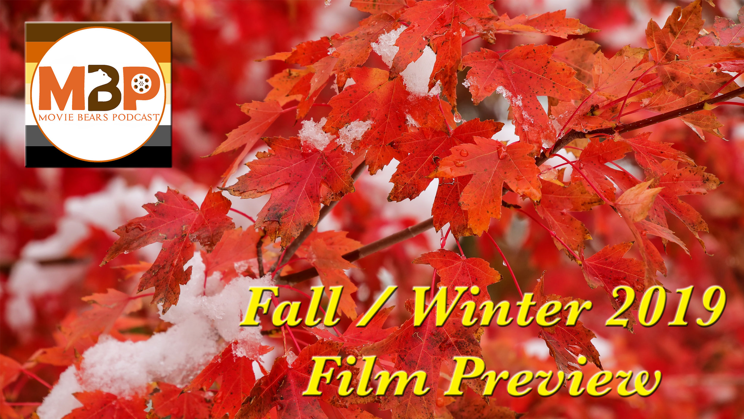 MBP e336 - 2019 Fall / Winter Movie Preview (9/3/19)    Summer movie season is behind us and we're staring down the final stretch of 2019, and while it feels the year is flying by, there are still a lot of movies to look forward to! On this Fall/Year-End Preview episode we talk about some of the upcoming films that have us most excited. So listen to see if any of the films we're looking forward to also have your interest!