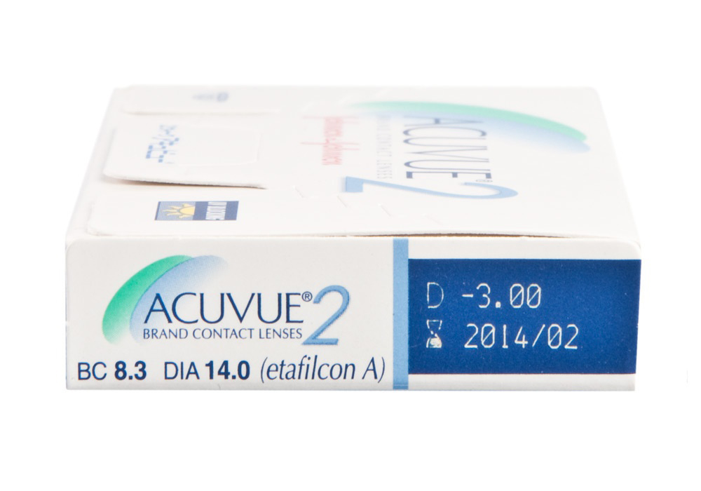 Acuvue 2 side